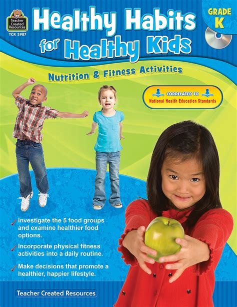 Healthy Habits for Healthy Kids Grade K - TCR3987