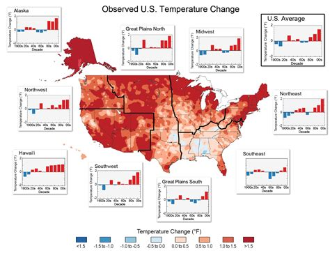 Nine maps that show how climate change is already