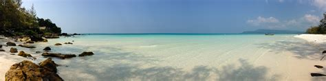 long (and lonely) beach on koh rong | destination: adventure