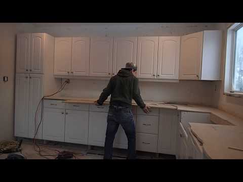 recycle timber bench top | Kitchen benchtops, Kitchen