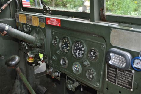 1971 AM GENERAL USMC MILITARY M35A2 1/2 TON DUECE AND A