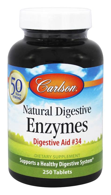 Buy Carlson Labs - Natural Digestive Enzymes Digestive Aid