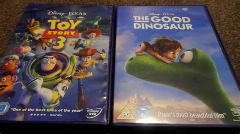 Toy Story 3 And The Good Dinosaur (UK) DVD Unboxing - YouTube