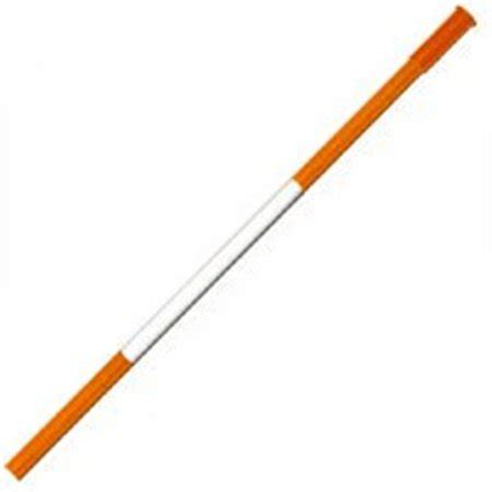 DM80096-O Driveway Marker Orange With Tape 96 In