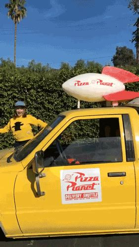 The Pizza Planet Truck Visited Us and It Was the Best Day