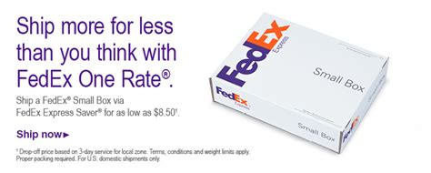 FedEx One Rate - simple, flat rate shipping
