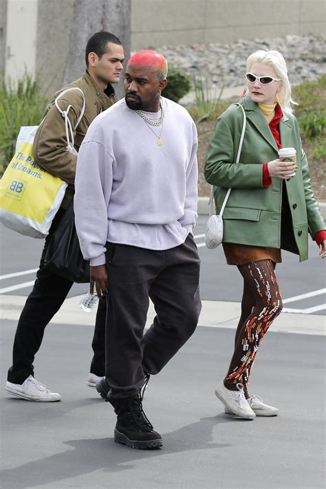 Kanye West Steps Out with Stylist Lotta Volkova of