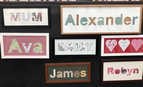 Name Frames and Text Cutouts in Matboard - Frames Now