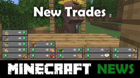 All the New Villager Trades in Minecraft 1