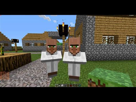 Minecraft The Evil Villagers! - YouTube