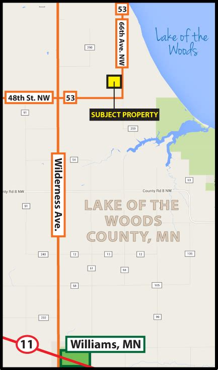 160 +/- Acres - Lake of the Woods County, MN   Pifer's