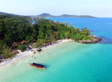 Best Price on White Beach Bungalows at Koh Rong Island in