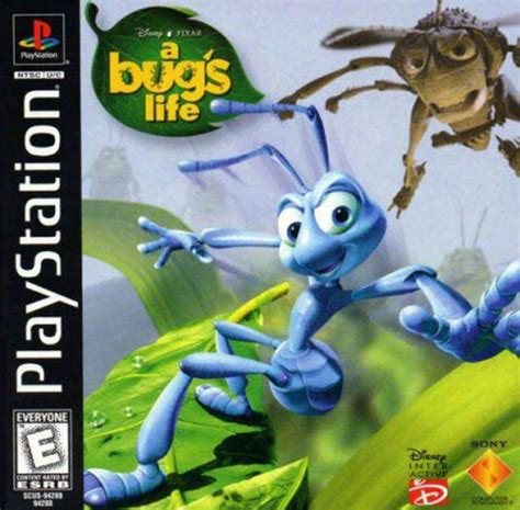 Download Game Disney A Bug's Life High Compressed PS1
