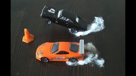 Hot Wheels Fast and Furious Toyota Supra vs Dodge Charger