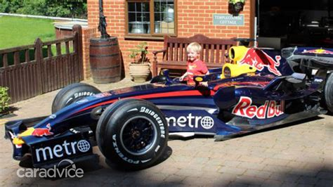 Mark Webber's early-2007 Red Bull F1 car available for