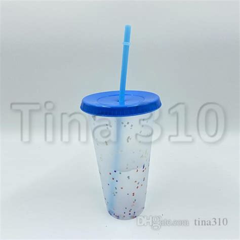 24oz Color Changing Cup Magic Plastic Drinking Tumblers