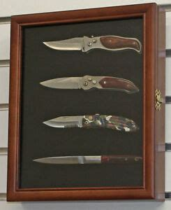 Small Knife Shadow Box / Display Case with glass door
