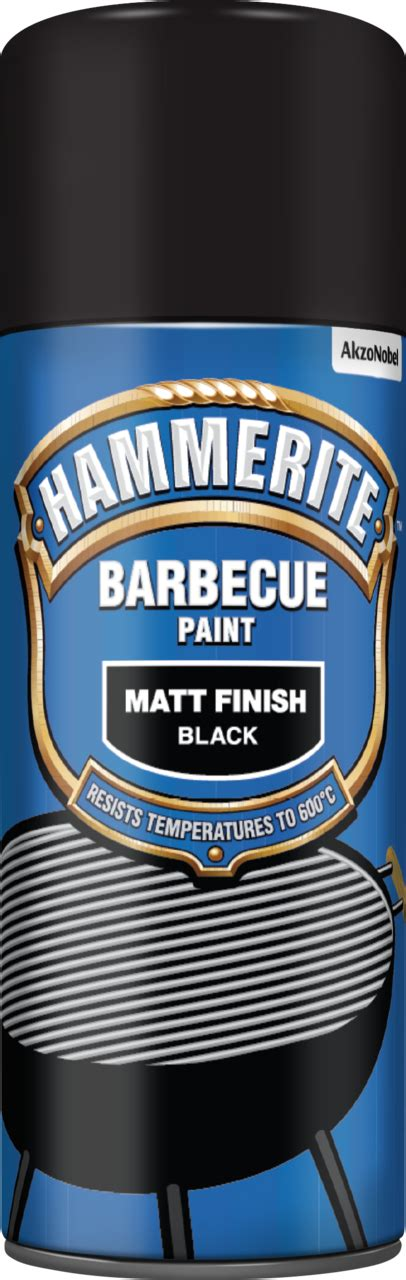 Barbecue Paint Aerosol– Protect your metal - Hammerite