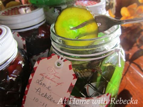 Canning Lime Pickles