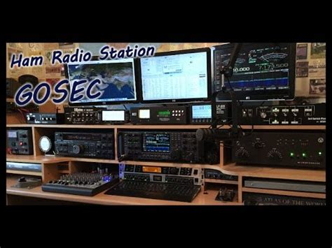 G0SEC Ham Shack Video with the New LP500 Station Monitor