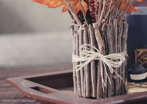 Make A Vase Out Of Sticks! · How To Make A Vase · No-Sew