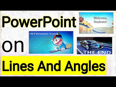 Recognizing Angles and Parallel Lines in the Letters of