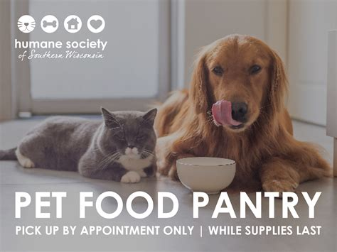 Pet Food Pantry | Humane Society of Southern Wisconsin