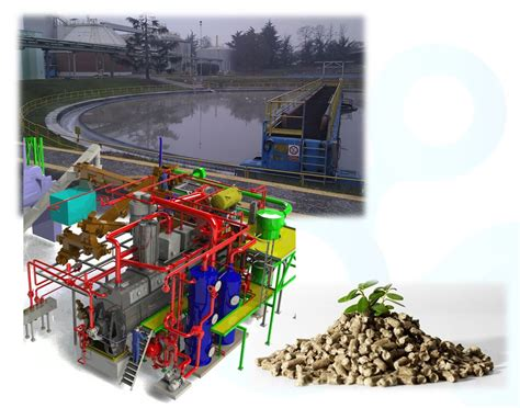 Sludge Drying System - Indirect Biosolids Drying Process