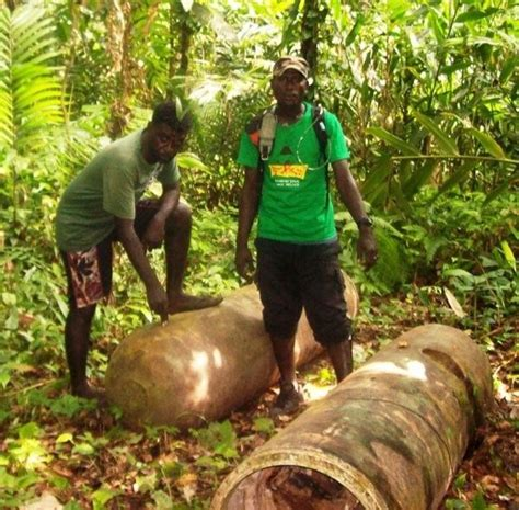 NEW DAWN ON BOUGAINVILLE: Relics association works to