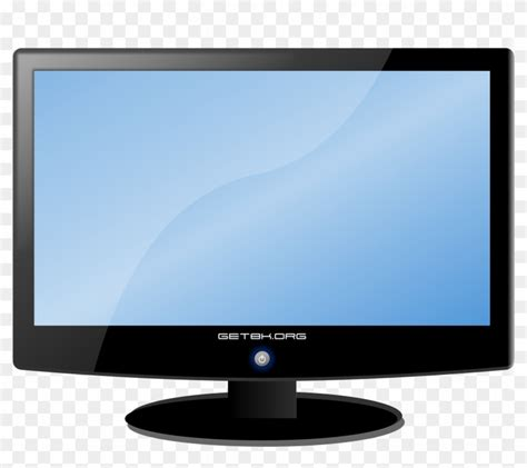Library of tv screen vector transparent png files Clipart