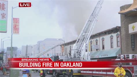 Fire destroys historic building in Oakland's Chinatown | KRON4