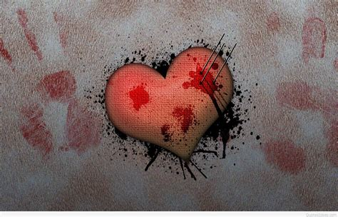 Broken heart sad quotes with wallpapers, images hd 2016