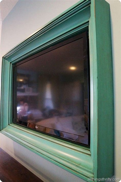 TV Frame Ideas - A Way To Personalize Your Home Without