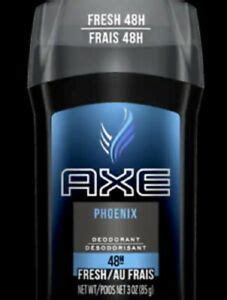 Axe Deodorant, Invisible Solid, Phoenix, 3oz, 2 Pack