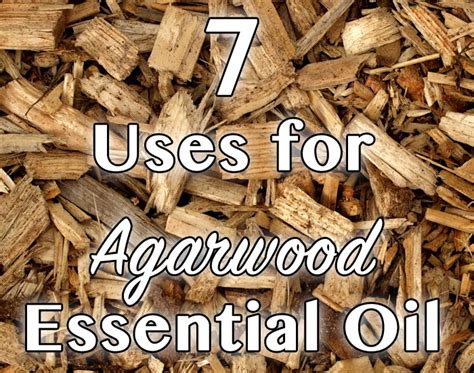 7 Uses for Agarwood Essential Oil - Healthy Focus