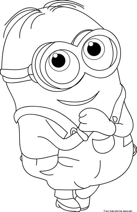 Minion Thanksgiving Coloring Pages at GetColorings