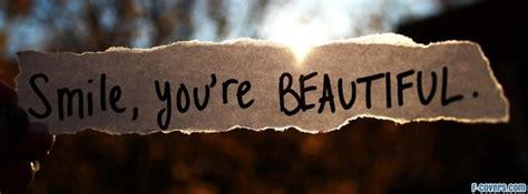 you are beautiful Facebook Cover timeline photo banner for fb