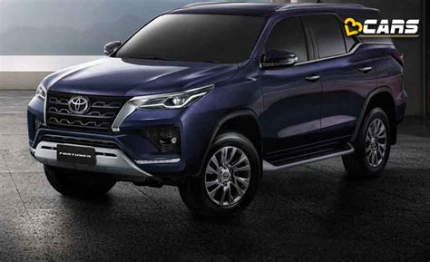 2021 Toyota Fortuner Facelift Unveiled