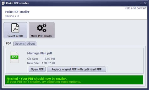 Make PDF Smaller - Free download and software reviews