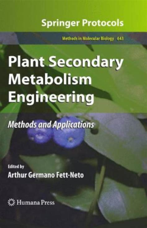 Plant Secondary Metabolism Engineering 1st Edition