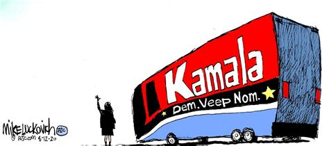 5 funny cartoons about the promise and peril of Kamala