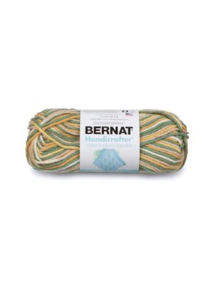 Bernat Handicrafter Cotton Yarn, 340gm, Ombres and Prints