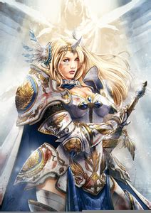 Anime Warrior Angel | Free Images at Clker