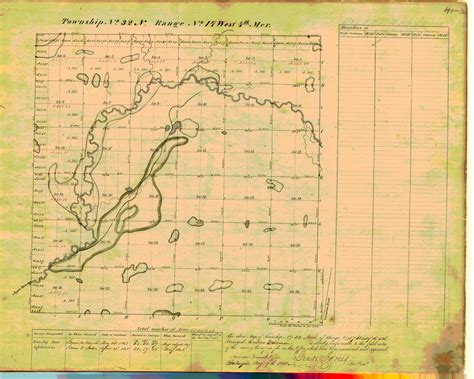 Public Land Survey System map: Wisconsin Township 32 North