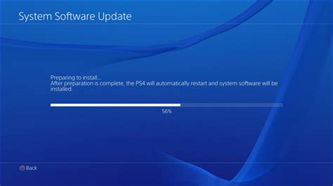 PS4 System Software Update 1